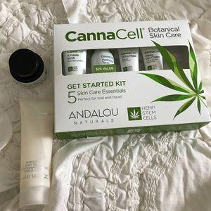 Beauty bundle! Sample set and face/body cream